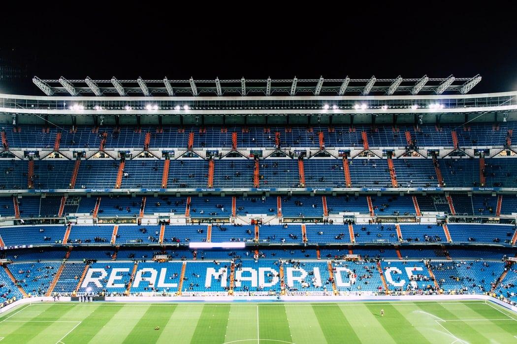 Going to a Real Madrid match at Santiago Bernabéu