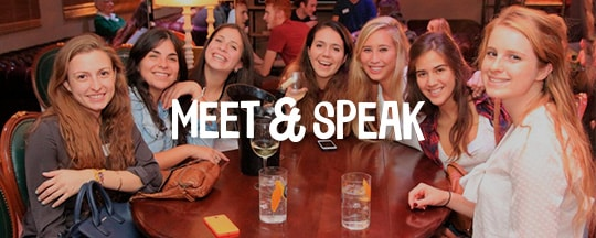 Fiestas Madrid - Meet & Speak