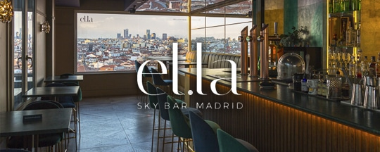 Clubs Madrid - Ella Sky Bar